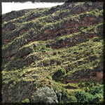 Mountainside Pisac Peru © Twyatt 2014