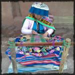 Weaving at Farm Peru © Twyatt 2014